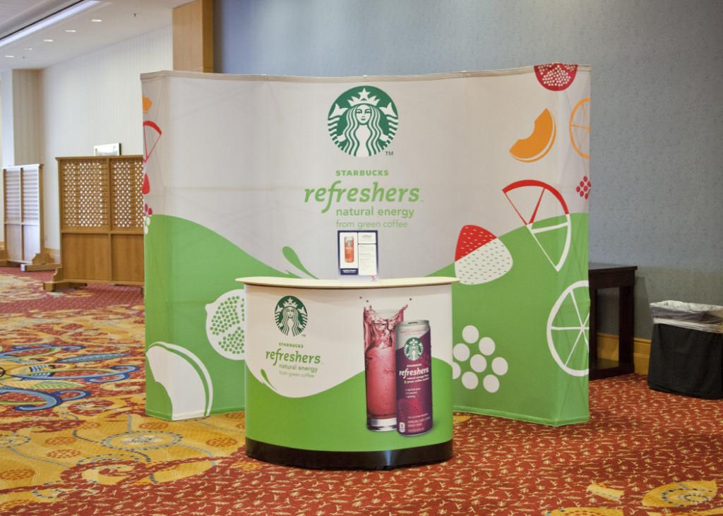 Event Support | Starbucks Sampling Booth