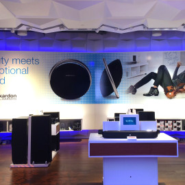 Corporate Decor | Harman Retail Store | New York, NY