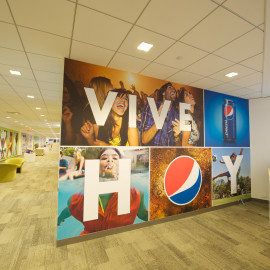 Environmental Branding | PepsiCo | Somers, NY