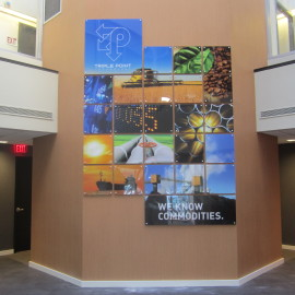 Environmental Branding   Triple Point Technology   Westport, CT
