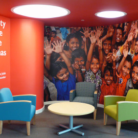Corporate Décor | Save the Children | Fairfield, CT