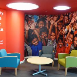 Environmental Branding   Save the Children   Fairfield, CT