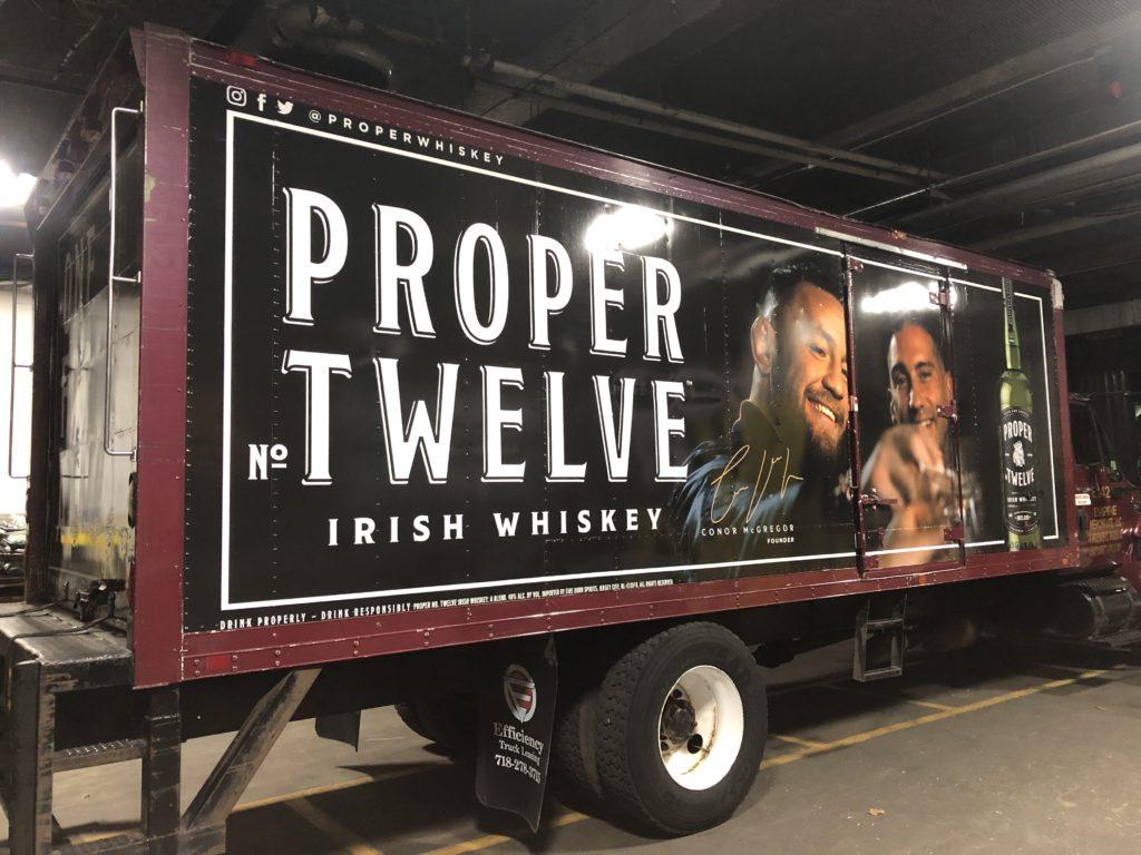 Fleet Graphics/Truck Wrap | Proper No. Twelve