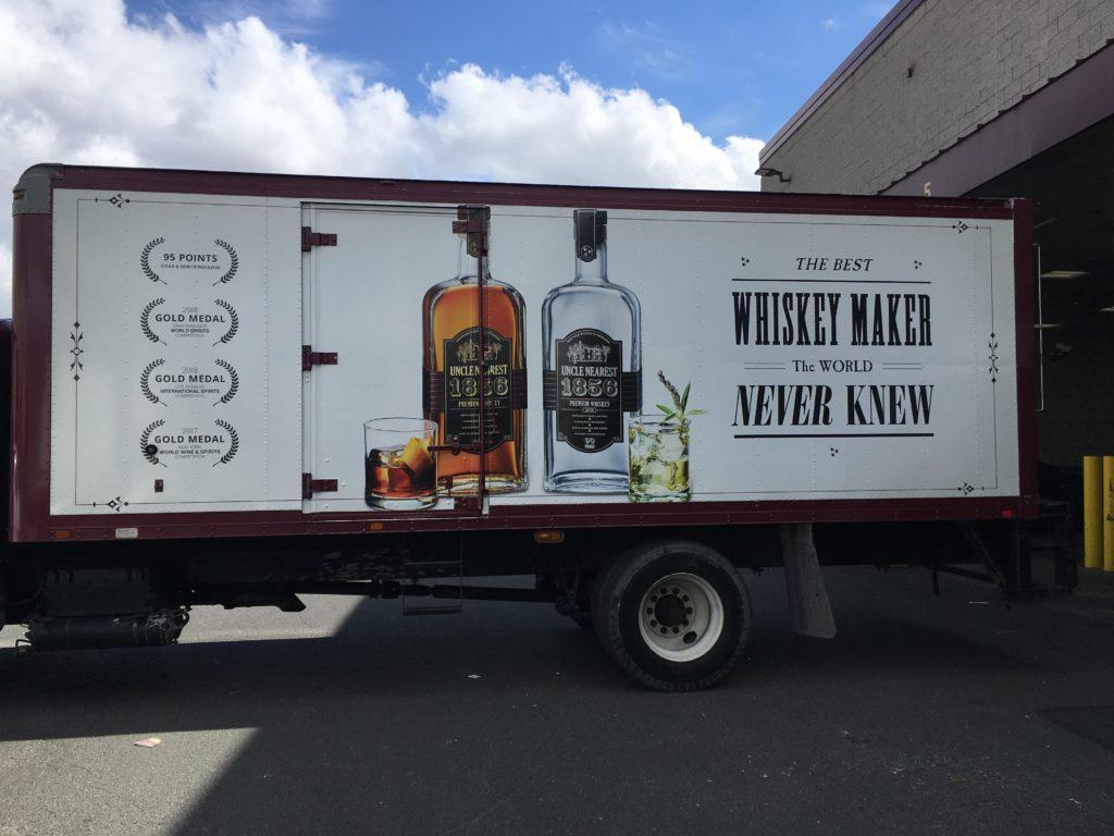 Fleet Graphics/Truck Wrap | Uncle Nearest