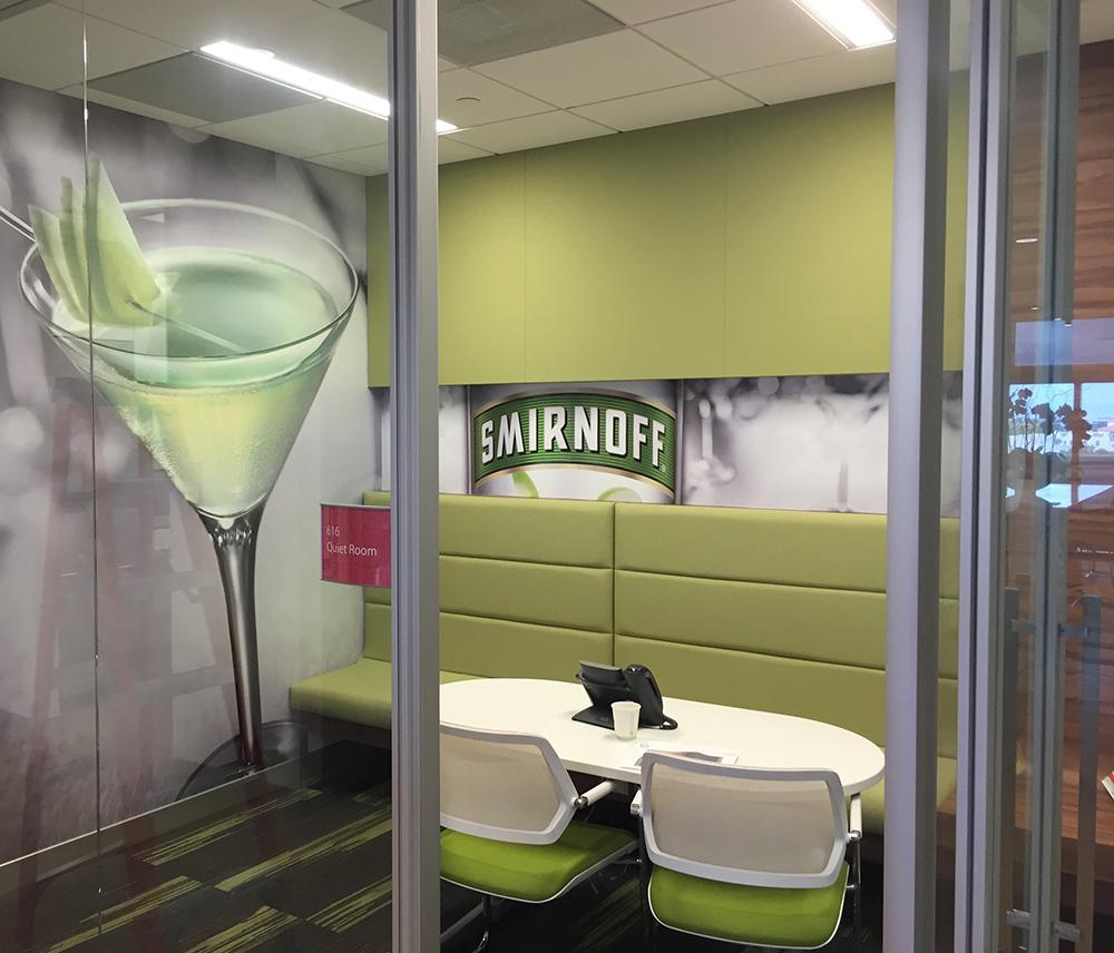 Environmental Branding | Diageo | Smirnoff