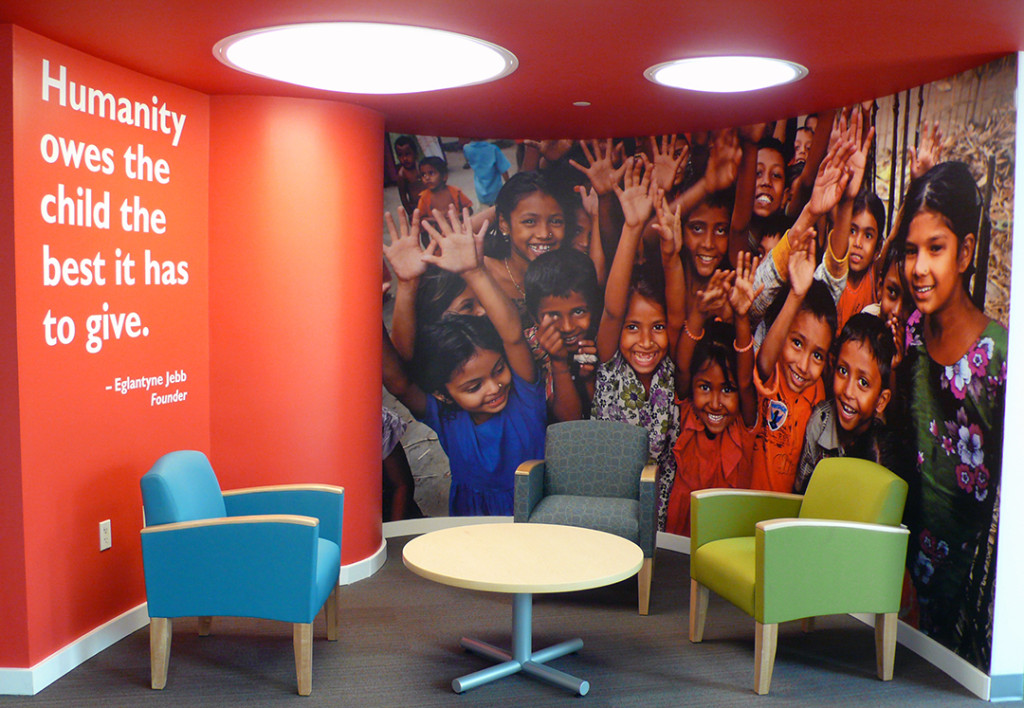 Environmental Branding | Save the Children | Fairfield, CT