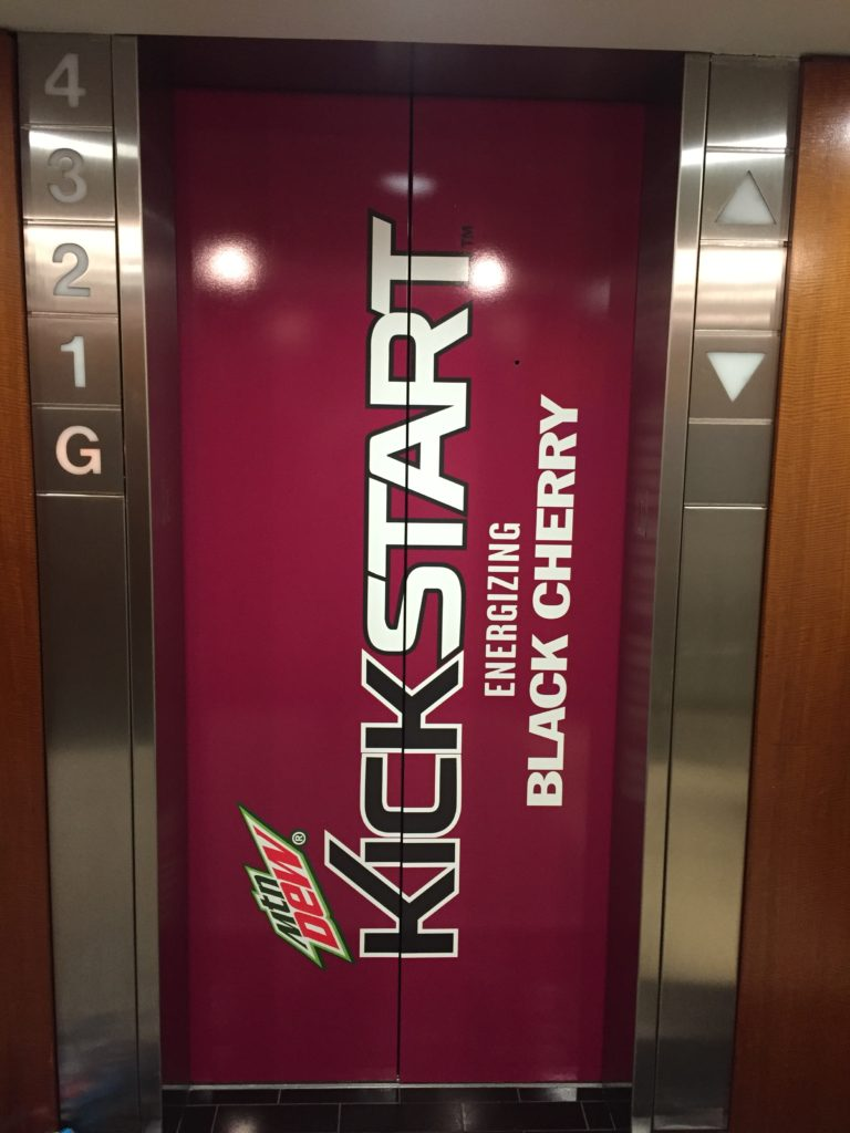 Elevator Graphics | Dew Kick Start