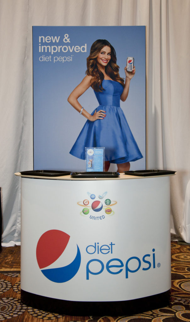 Trade Show Displays | Diet Pepsi Sampling