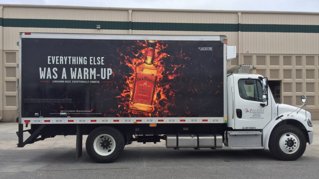 Fleet Graphics/Truck Wraps | Jack Daniels