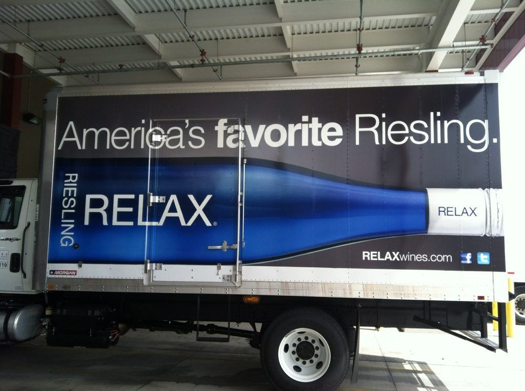 Fleet Graphics/Truck Wraps | Relax Riesling